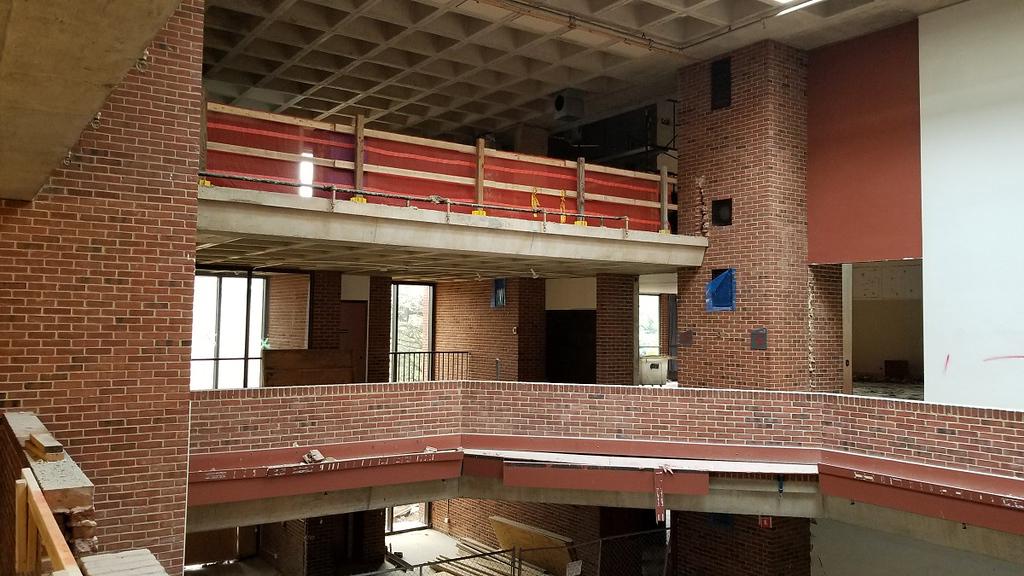 2019 Construction of Ruth S. Harley University Center